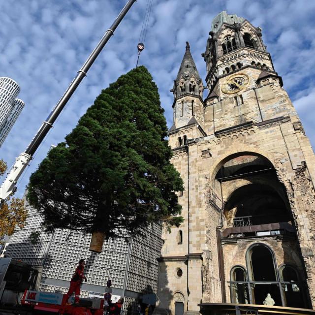 Božićno drvce u Berlinu