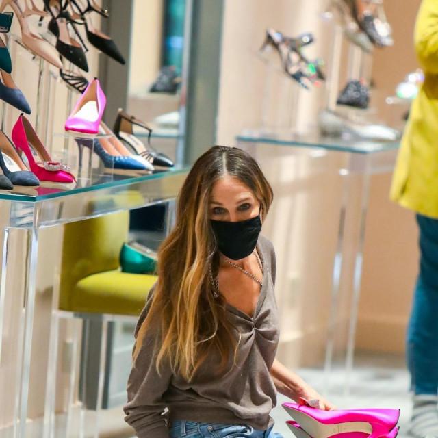 Sarah Jessica Parker u svojoj trgovini u New Yorku<br />