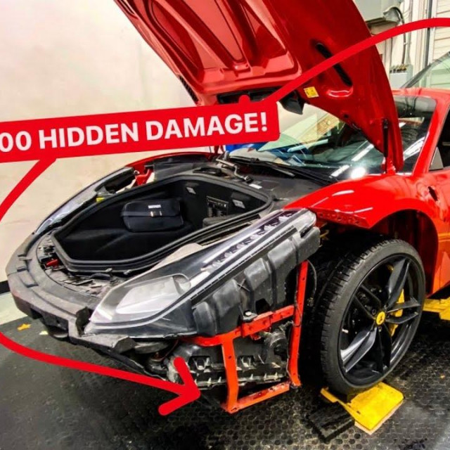 Ferrari u radioni