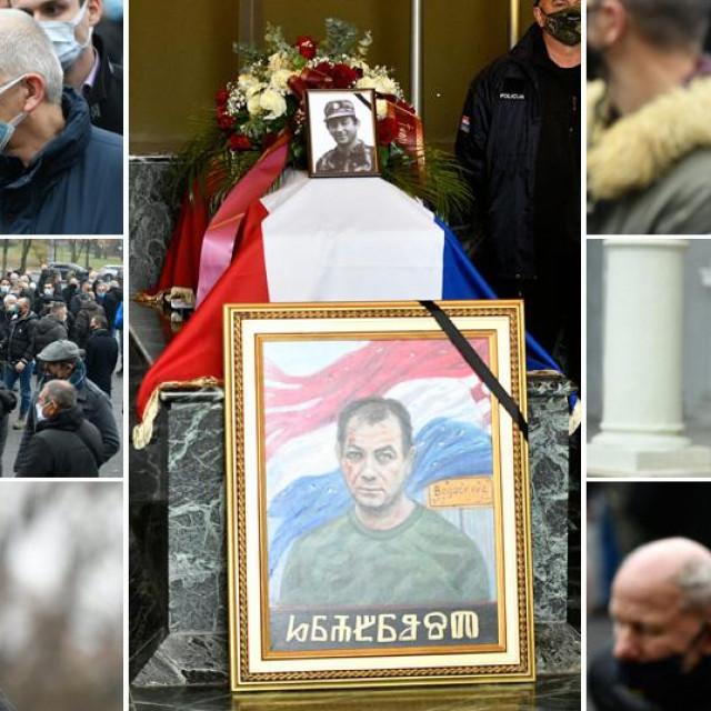Pogreb ratnog zločinca Tomislava Merčepa