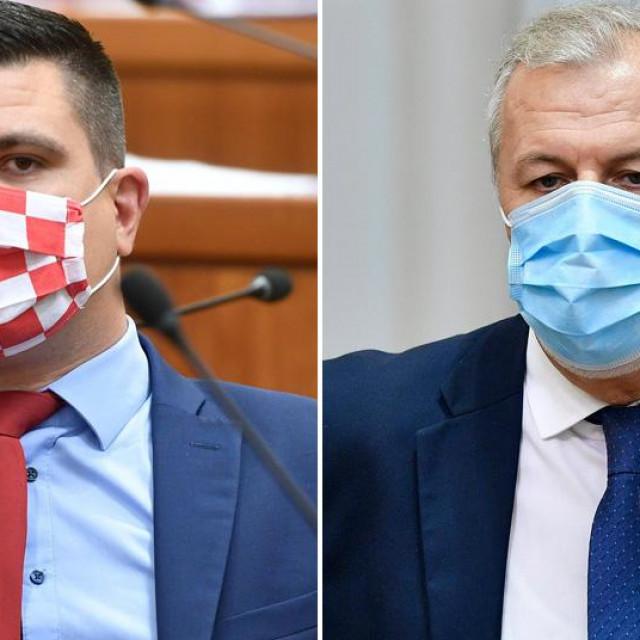 Domagoj Hajduković i Ante Sanader