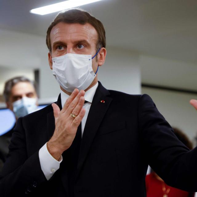 Predsjednik Francuske Emmanuel Macron