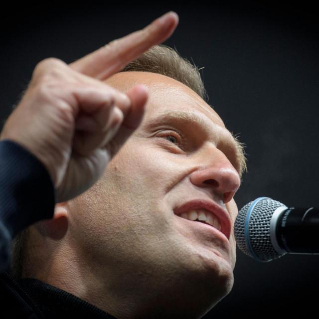 Aleksej Navalni, vođa ruske oporbe i glasni kritičar Vladimira Putina