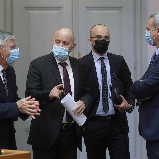 Željko Reiner, Branko Bačić, Josip Salapić, Ante Sanader