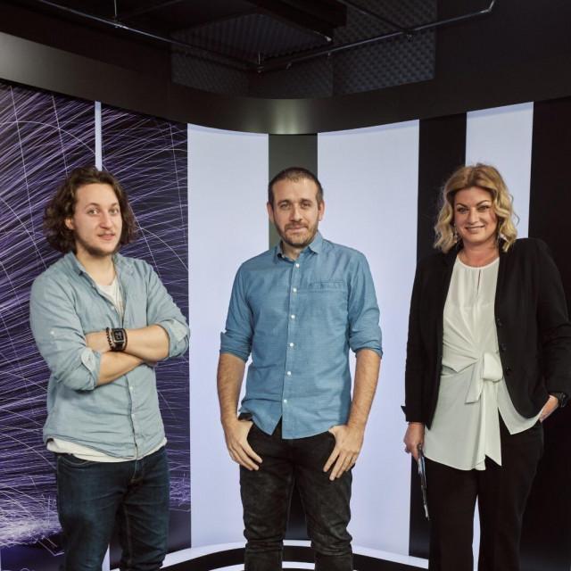 Tomislav Car, Albert Gajšak i Ana Hanžeković