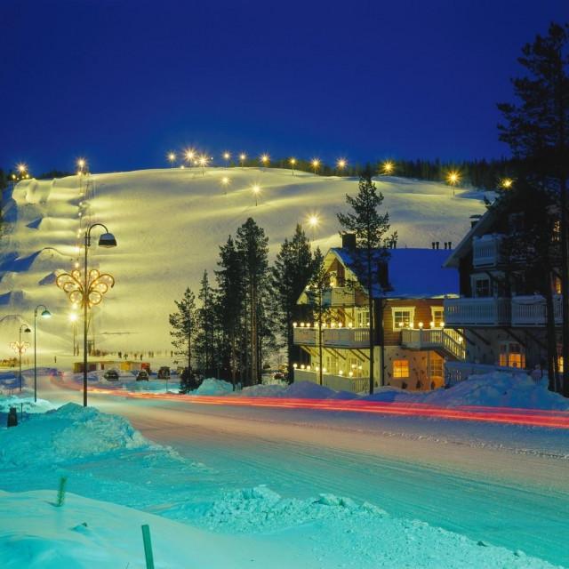 Skijalište u finskom Leviju
