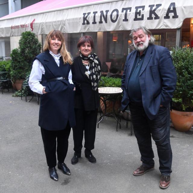 Vlasnik Željko Japec, supruga Željka i kćer Matea<br />