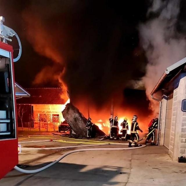 Požar u Lučkom
