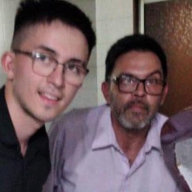 Claudio Fernandez i njegov sin