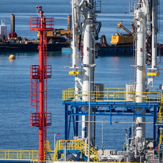 Radovi na izgradnji kopnenog terminala za ukapljeni prirodni plin