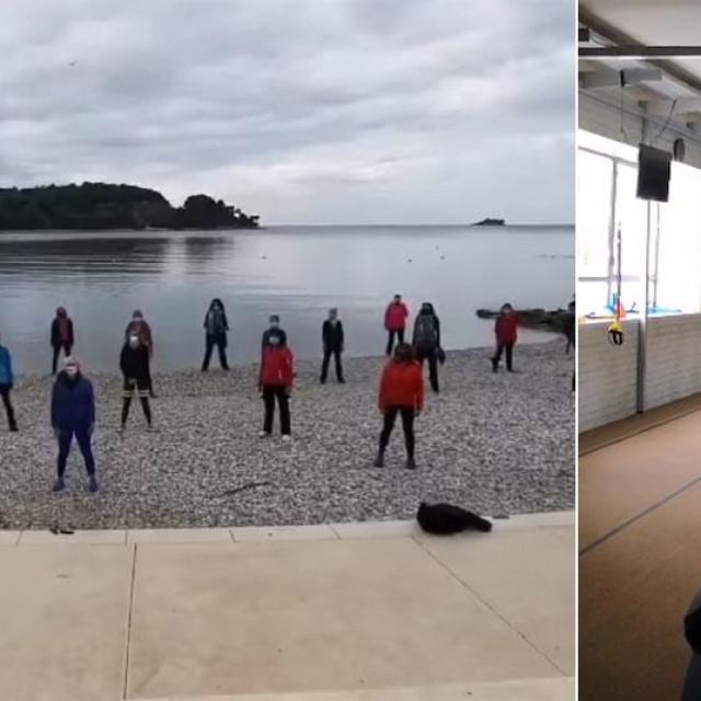 Inicijativa fitness zajednice, vježbanje u Rovinju i teretani