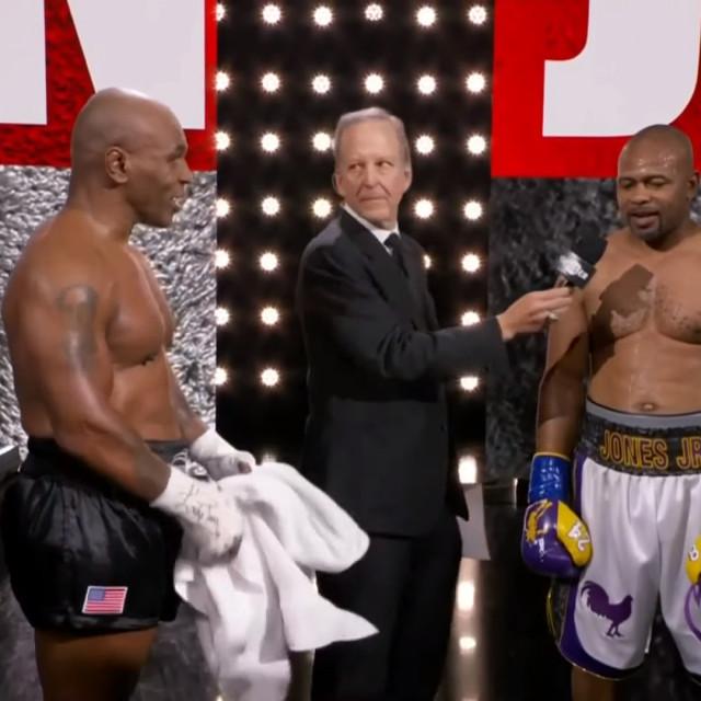 Mike Tyson i Roy Jones Jr,