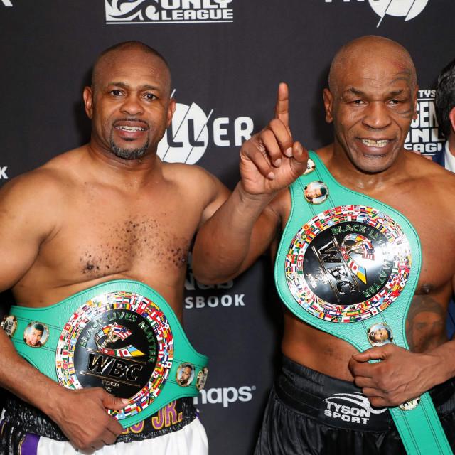 Roy Jones Jr. i Mike Tyson