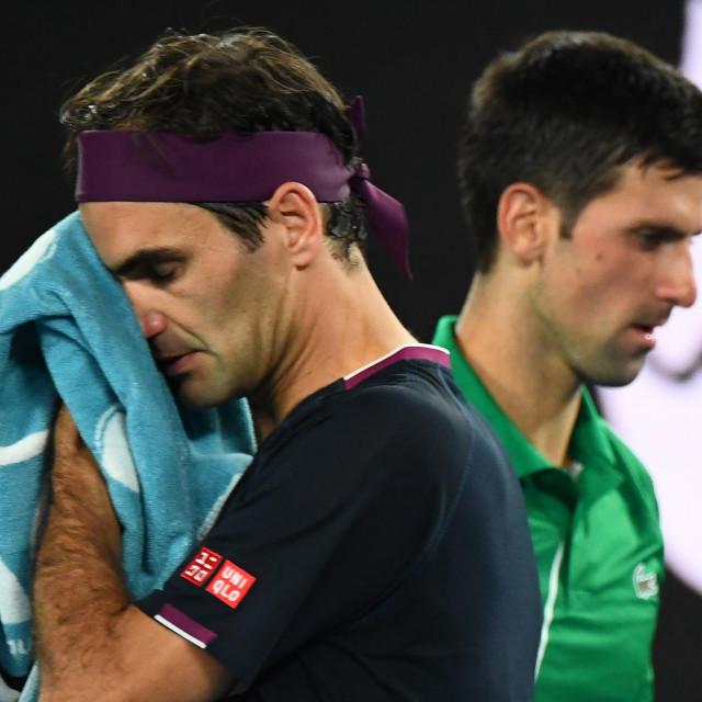 Između Rogera i Novaka nema velikog prijateljstva