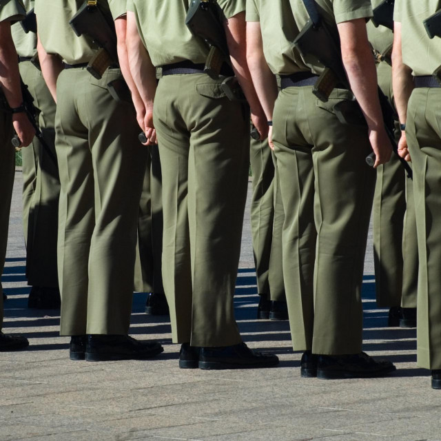 Ilustracija, australski vojnici