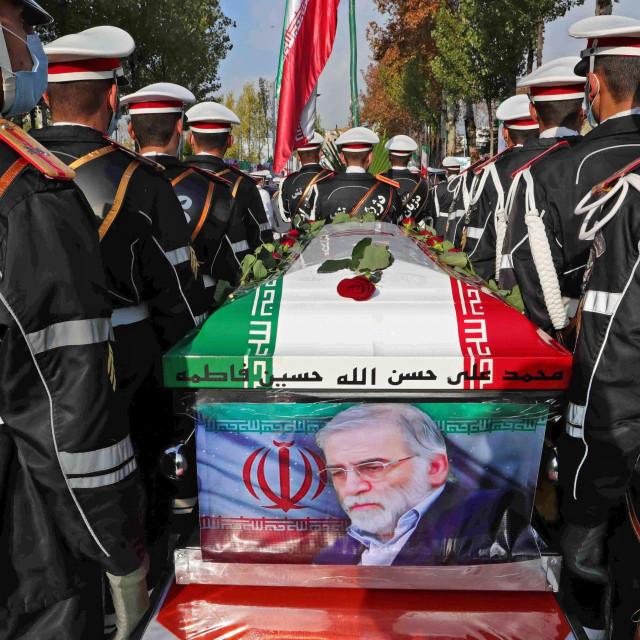 Pogreb Mohsena Fakrizadeha