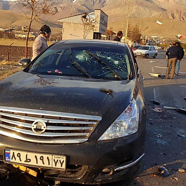 Ubojstvo Mohsena Fakhrizadeha