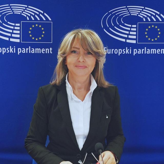 Hrvatska zastupnica u Europskom parlamentu Sunčana Glavak (HDZ, EPP)