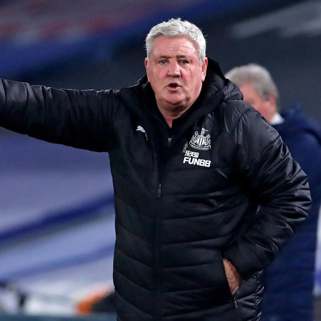 Trener Newcastlea Steve Bruce