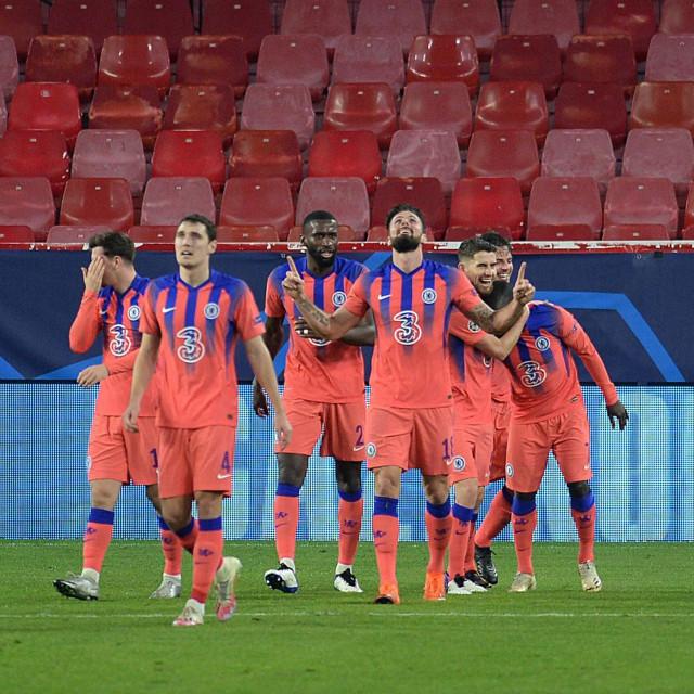 Slavlje nogometaša Chelseaja