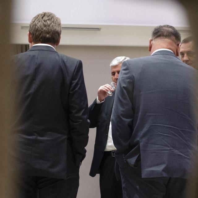 Dragan Čović, Milorad Dodik (arhiva)