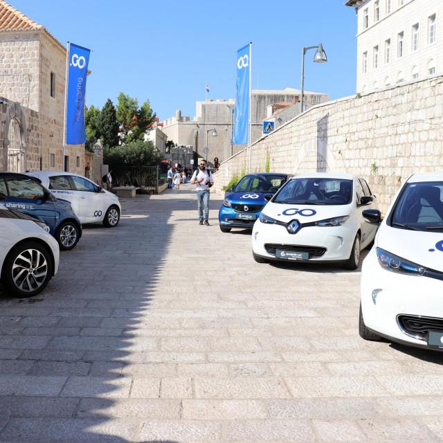 CAR Sharing, predstavljanje sustava