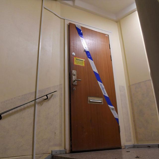 Vrata stana u kojem je muškarac desetljećima bio zatočen