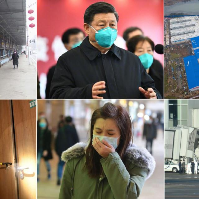 Wuhan u siječnju i veljači
