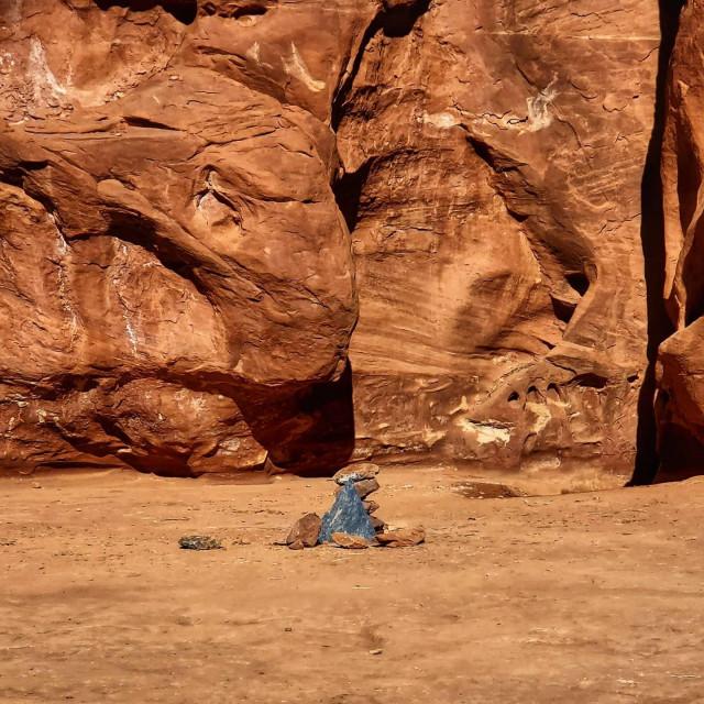 Mjesto u pustinji u Utah gdje je do prije nekoliko dana stajao monolit