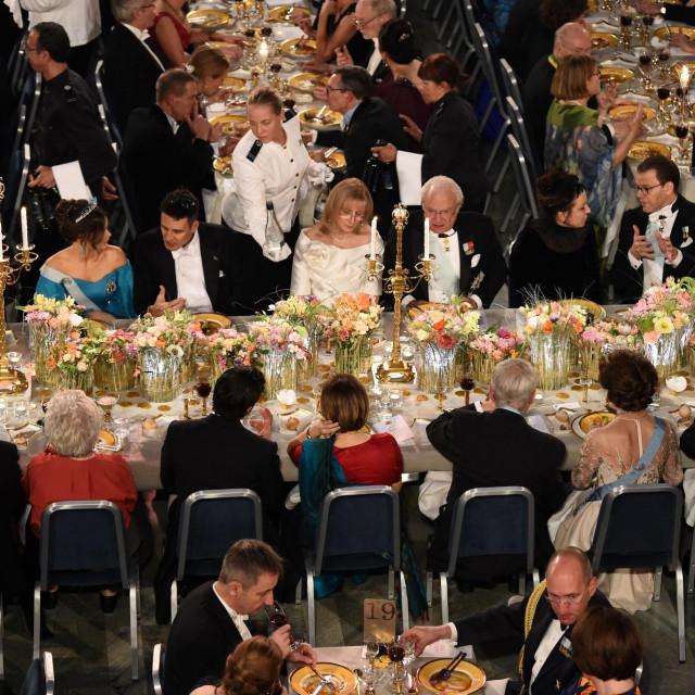 Prošlogodišnja dodjela Nobelove nagrade u Stockholmu