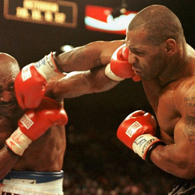 Evander Holyfield i Mike Tyson