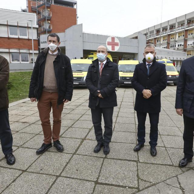 Na fotografiji: dr. Mato Devčić, dr. Nenad Kudelić, dr. sc. Tomislav Novinščak, dr. Dražen Jurković, prof. dr. sc. Mladen Bušić