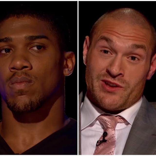 Anthony Joshua i Tyson Fury