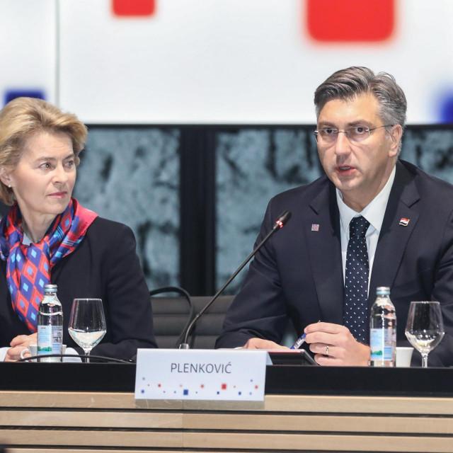 Andrej Plenković i Ursula von der Leyen