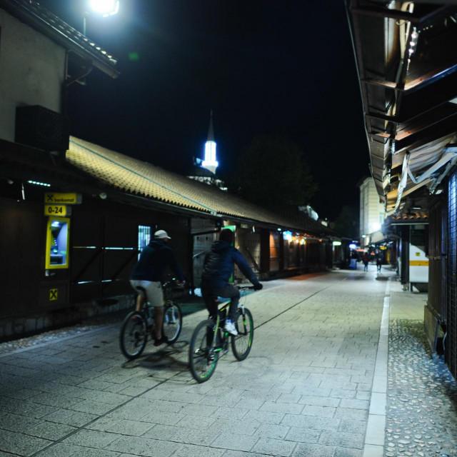 Prane ulice sarajevske Baščaršije