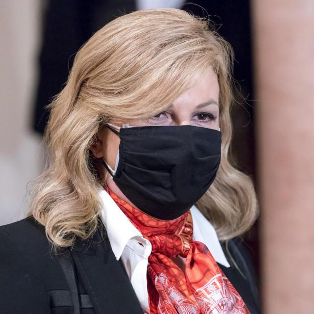 Bivša predsjednica Kolinda Grabar Kitarović