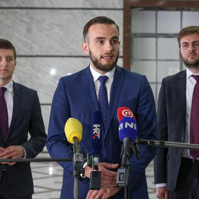Zdravko Marić, Josip Aladrović i Tomislav Ćorić<br />