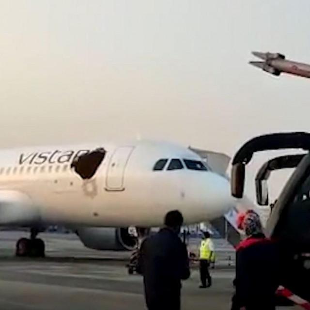Napad pčela na avion