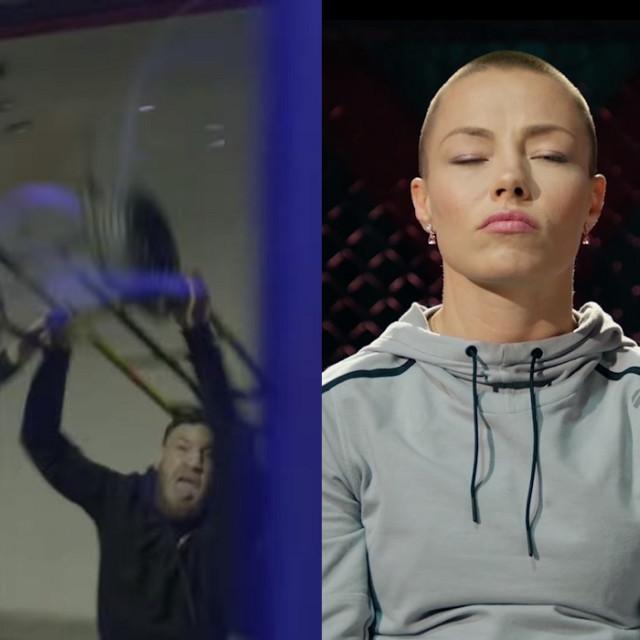 Conor McGregor i Rose Namajunas