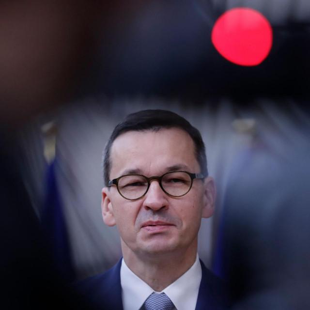 poljski premijer Mateusz Morawiecki