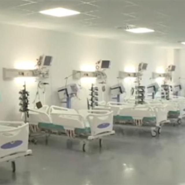 Unutrašnjost bolnice u Batajnici