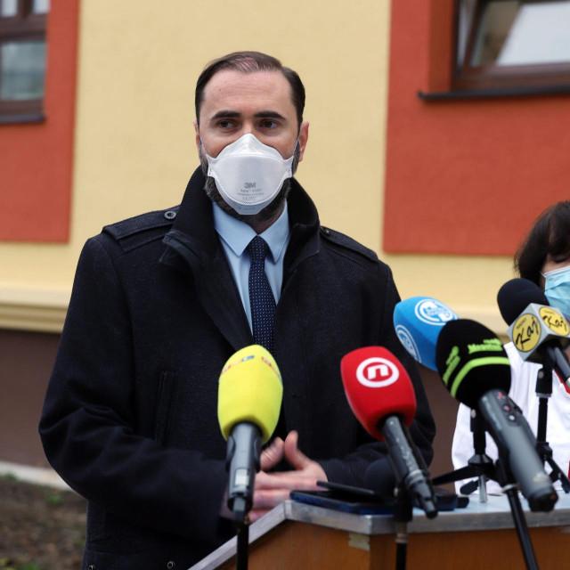 Krešimir Luetić, predsjednik HLK