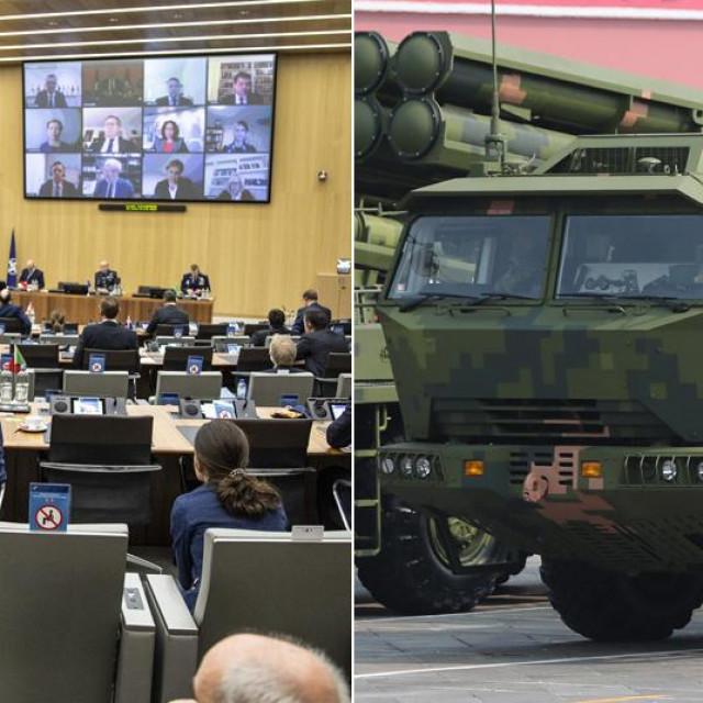 Vladimir Putin, NATO-ova sjenica ministara vanjskih poslova, kineska vojka