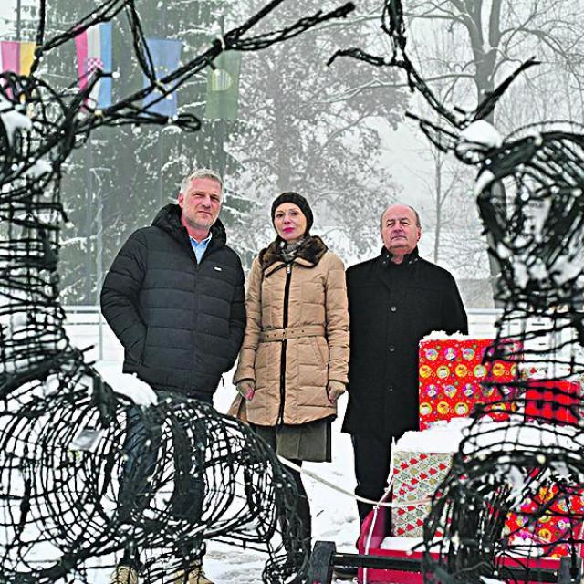 Tomislav Boljar, Katarina Srakočić i Miroslav Furdek<br />