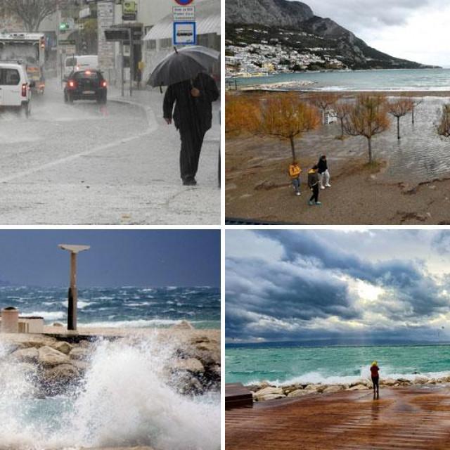 Prizori iz Splita i Omiša
