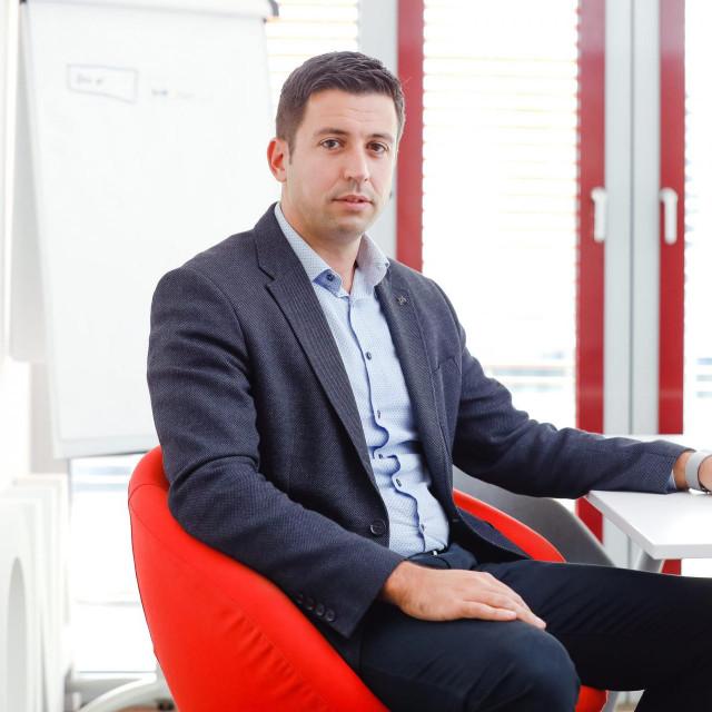 Sandro Lazarić, predsjednik Uprave tvrtke Arbona