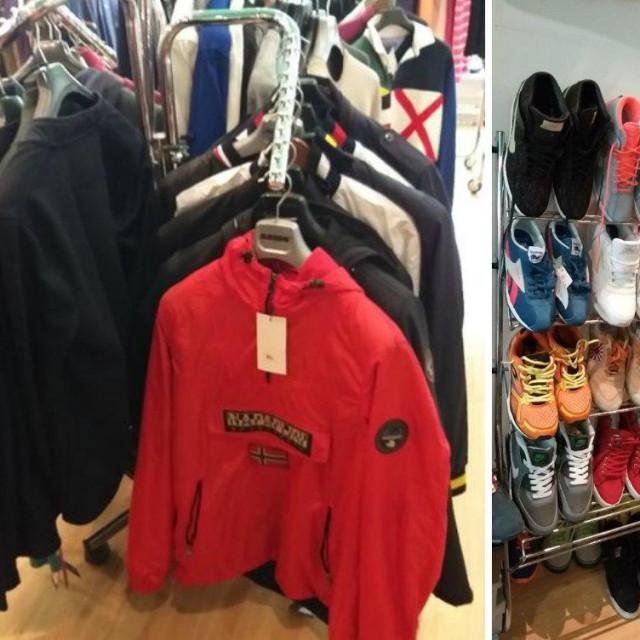 Krivotvorena odjeća i obuća (arhiva)