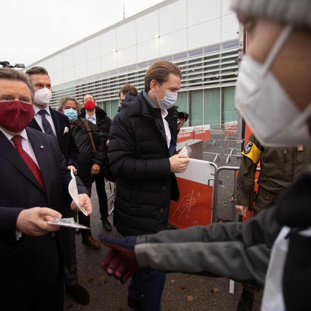 Sebastian Kurz i bečki gradonačelnik Michael Ludwig