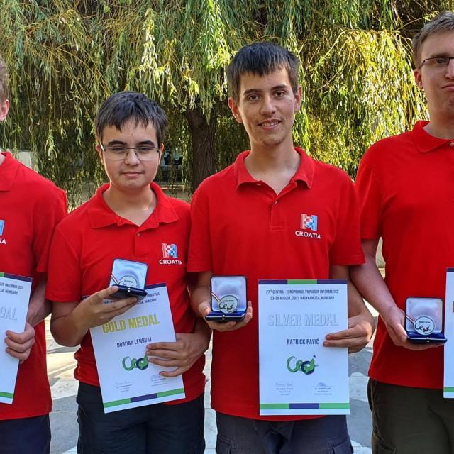 Krešimir Nežmah, Dorijan Lendvaj, Patrik Pavić i Martin Josip Kocijan snimljeni na jednom od ranijih natjecanja