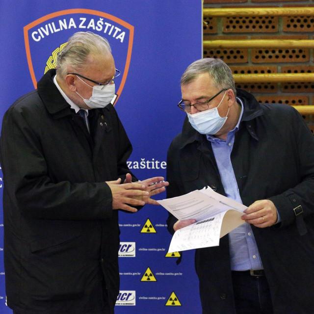 Davor Božinović, Krunoslav Capak